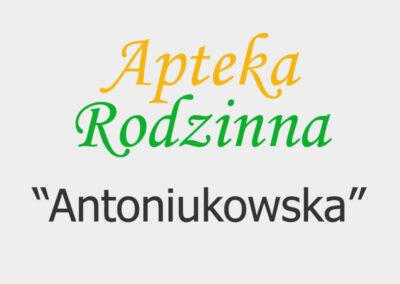 """Apteka Rodzinna """"Antoniukowska"""""""