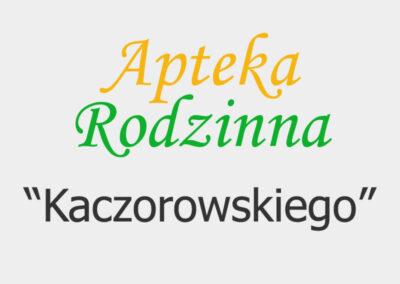 """Apteka Rodzinna """"Kaczorowskiego"""""""