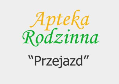 """Apteka Rodzinna """"Przejazd"""""""